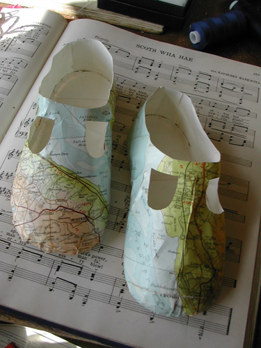Jcweb 3 map baby shoes
