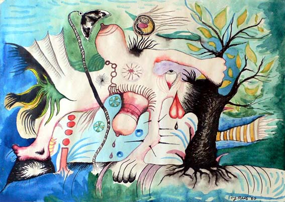 Woman_and_tree29_x_41_cm_1990