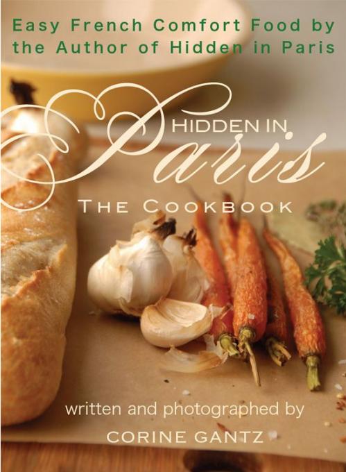 French cookbook. Hidden in Paris