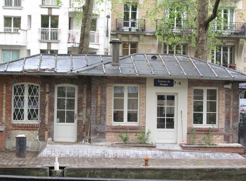 Corine Gantz canal saint martin