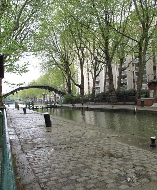Corine Gantz canal saint martin 2