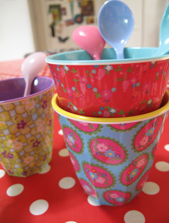 Corine Gantz Rice melamine cups