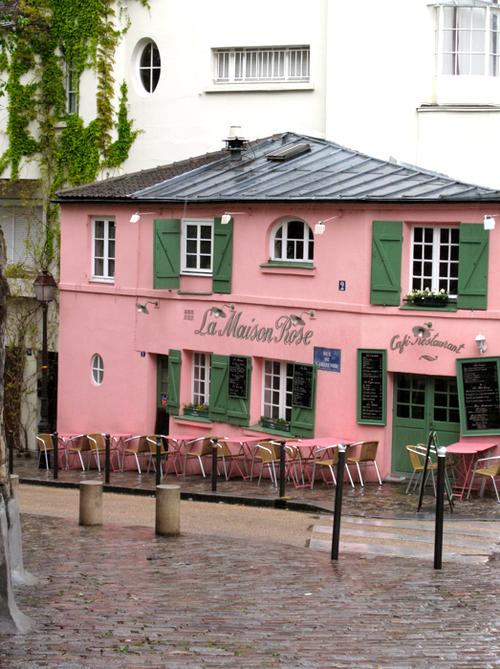 La Maison Rose, Montmartre corine gantz