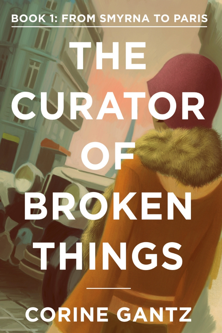 The Curator of Broken Things kindle cover book 1