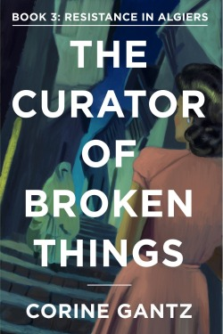 The Curator of Broken Things kindle cover book 3